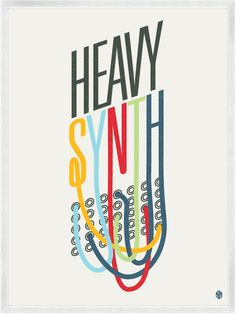 Clever Posters for the Music Lover    - graphic artist Christopher David Ryan