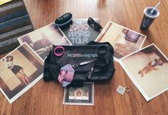 Merchandise found inside the #The1989WorldTour VIP package!