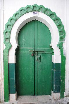 Cool Doors, Unique Doors, Portal, Knobs And Knockers, Door Knobs, Tanger Morocco, When One Door Closes, Grand Entrance, Interior Exterior