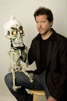Jeff Dunham and Achmed, the Dead Terrorist - my fave. Charlie Chaplin, Jeff Dunham Tickets, Jeff Dunham Achmed, Movie Stars, Movie Tv, Comedy Events, Funny As Hell, Funny Men, Freaking Hilarious