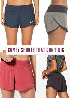 0f89c8bb0 Comfy Workout Shorts That Don't Dig Into Your Sides Nike Workout, Workout  Shorts