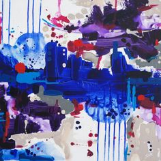 """Saatchi Online Artist: Susan Robinson; Acrylic, 2013, Painting """"From The Sea"""""""