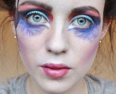 circque du soleil makeup | Cirque Du Soleil Inspired Makeup