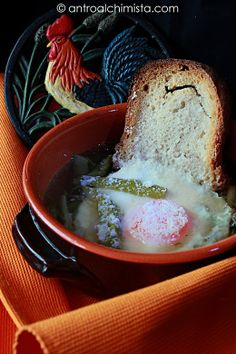 Acqua Cotta coi Lupari - An ancient Etruscan recipe: Soup with Wild Asparagus and Pecorino Cheese