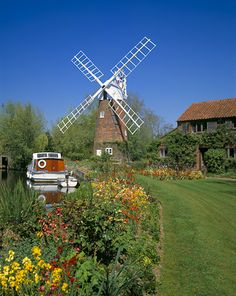 Hunsett Mill, Norfolk Broads