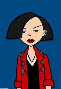 Cartoon Shows, Cartoon Art, Daria Quotes, Daria Mtv, Daria Morgendorffer, Cartoon Profile Pictures, Cool Cartoons, Artist Art, Spirit Animal