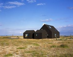Rodic Davidson Architects: North Vat Dungeness — Thisispaper — What we save, saves us. Dungeness Beach, Odile Decq, Beach List, Black Building, Timber Cladding, Timber House, Architect Design, Architectural Digest, Detached House
