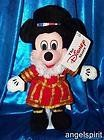 Mickey Mouse Beefeater Mini Beanbag Plush * Details can be found by clicking on the image.