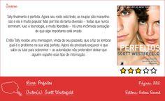 Resenha: Perfeitos http://apenasimagine.com.br/resenha-perfeitos/ #resenha #livros #book #perfeitos
