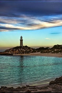 Lighthouse: Cyan Waters, Rottnest Island, Western Australia by Denis Glennon The Places Youll Go, Places To See, Beautiful World, Beautiful Places, Beautiful Scenery, Beautiful Sunset, Australia Occidental, Western Australia, Queensland Australia
