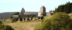 Le village d'Aubrac, sur la Route du Puy-en-Velay en direction de Compostelle