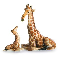 Franz Collection Endless Beauty Giraffe Mother Figurine ($160) ❤ liked on Polyvore featuring home, home decor, animals, decor, giraffes, fillers, multi, animal figurines, giraffe home decor and franz collection