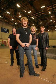Tico, Jon, David & Richie...Bon Jovi