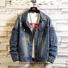 Long Denim Jacket, Denim Jacket Fashion, Sleeveless Denim Jackets, Ripped Denim, Casual, Cotton Jacket, Number, Type, Single Breasted
