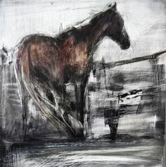 17thhorse Horse Artwork, Horse Wall Art, Horse Drawings, Animal Drawings, Farm Art, Painted Pony, Cow Art, Horse Sculpture, Abstract Animals