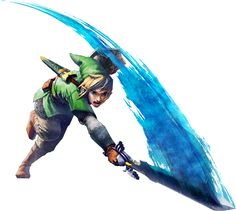 Amazing art of Link from Skyward Sword!