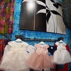 Girls Dresses, Flower Girl Dresses, My Etsy Shop, Wedding Dresses, Flowers, Painting, Shopping, Fashion, Dresses Of Girls