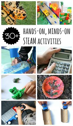 Simple hands-on activities for bringing science, math, engineering, art and technology into your preschoolers every day life. A must read!