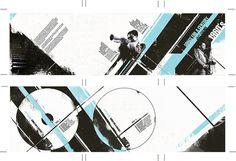 1960's jazz compilation CD package design by deceipt, via Flickr