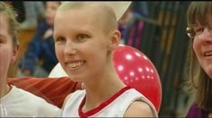 2013 Miracle Kid Courtney Wagner is an inspiration at her senior night with the Canandaigua girls' basketball team.
