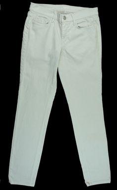 ANN TAYLOR LOFT Size 28 / 6 Modern Skinny Jeans - Stone Chalk Khaki #AnnTaylorLOFT #SlimSkinny