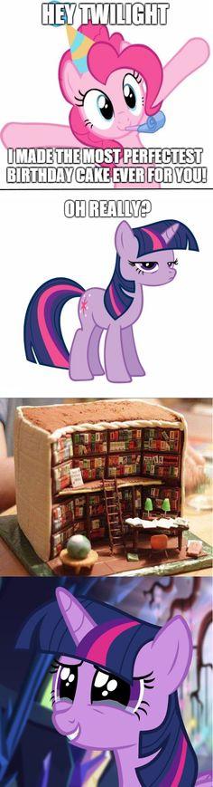 Twilight's Birthday Cake