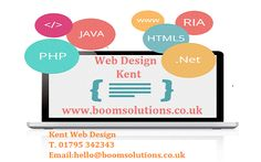 Web Design Kent Your website is the window to your business and it's important that it showcases your business in the very best light. Everybody's website needs to do something different and that's why we handcraft a solution specifically for your business rather than giving you the same 'template' as everyone else. Boom Solutions is an UK based agency, which is specialises in website design, development and SEO Search Engine Optimisation. for more info call @ 01795 342343.