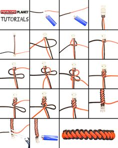#Tutorial for Curling Millipede Weave! #Paracord #HappyCording #DIY