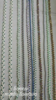 Loom Beading, Beading Patterns, Beaded Jewelry, Beaded Necklace, Eyeglass Holder, Bargello, Handmade Bracelets, Turquoise Necklace, Seed Beads
