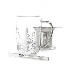 Glass Customizable Nordic Mug