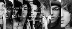 austin carlile, oli sykes, and andy biersack | theoriginalimperfection