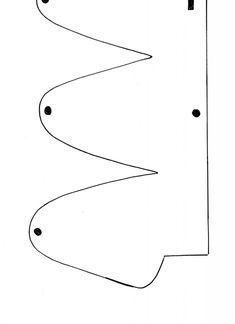 Resultado de imagem para boné de eva molde  1b9aae7bcf0