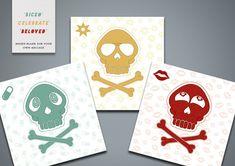 Skull Greetings Cards (pack)