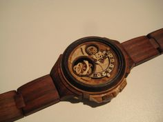 Ukrainian Carpenter Valery Danevich carves fully functional timepieces fro wood