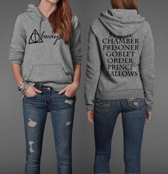 The Harry Potter Hoodie That Should Always Be Part of Your Wardrobe..... OH MY GOSH. please please pleaaaaaaaaaaase?!?! Alyssa Mayclin needs this in her life, asap.
