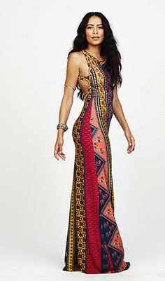 MIDNIGHT rambler red ethnic floral