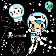 Blasting off 2016 with a never-before-seen collaboration for tokidoki parents…