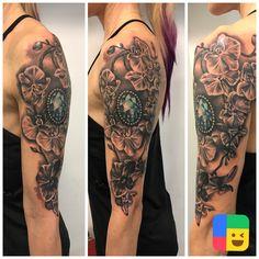 #tattoo #tattooinspiration #orchidtattoo #gemtattoo