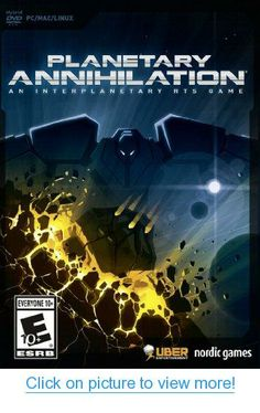 Planetary Annihilation Standard Edition - Multiple (Windows, Mac and Linux): select platform(s) Standard Edition Mac Games, Xbox Games, Nordic Games, Software, Real Time Strategy, Xbox One Controller, Solar System, Online Games, Linux
