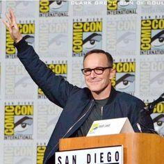 #SDCC2015 #SanDiegoComicCon #SDCC  #ClarkGregg alla sua entrata per #AgentsofSHIELD
