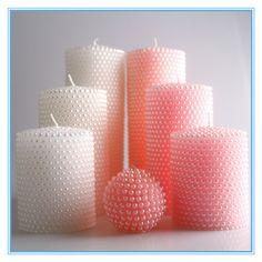Cheap Vela de cera de parafina grandes velas decorativas para bodas cumpleaños torta del bebé velas sin humo vela de perlas, Compro Calidad Velas directamente de los surtidores de China: