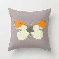 Butterfly Throw Pillows Throw Pillow