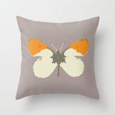 Butterfly Throw Pillows Throw Pillow