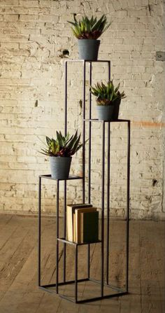 4-Tiered Open Pedestal Stand