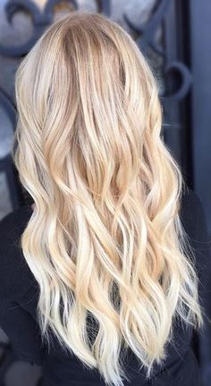 hair envy - blonde highlights and extensions