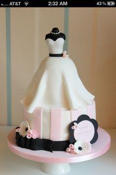 Cake for bridal shower