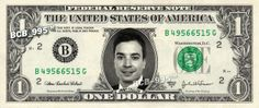 Jimmy Fallon on a Dollar Bill