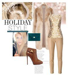 """""""Holiday Style: Leather Pants"""" by judysingley-polyvore ❤ liked on Polyvore featuring River Island, Jimmy Choo, Drome, Giuseppe Zanotti, STELLA McCARTNEY and holidaystyle"""