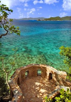 Perched above Peter Bay in St. Johns, U.S. Virgin Islands.