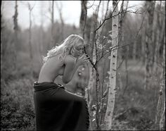 The 105 on P67II on Tri-x is sharp, but this image is smooth enough for the group rules, right? Hesitated a moment, just ban it if needed.. Model: Raphaella Withlove  Woman and nature is my absolute favorite combination. Together with film I could give it the best dimension. It was a real discover. I think that discover was first of all thanks to Jan Scholz.. Thanks for such a contagious thing Jan... :-) by Fabien Queloz